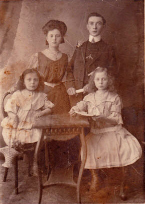 1913 Children of Sarah Aldstein and Isaac Greenbaum