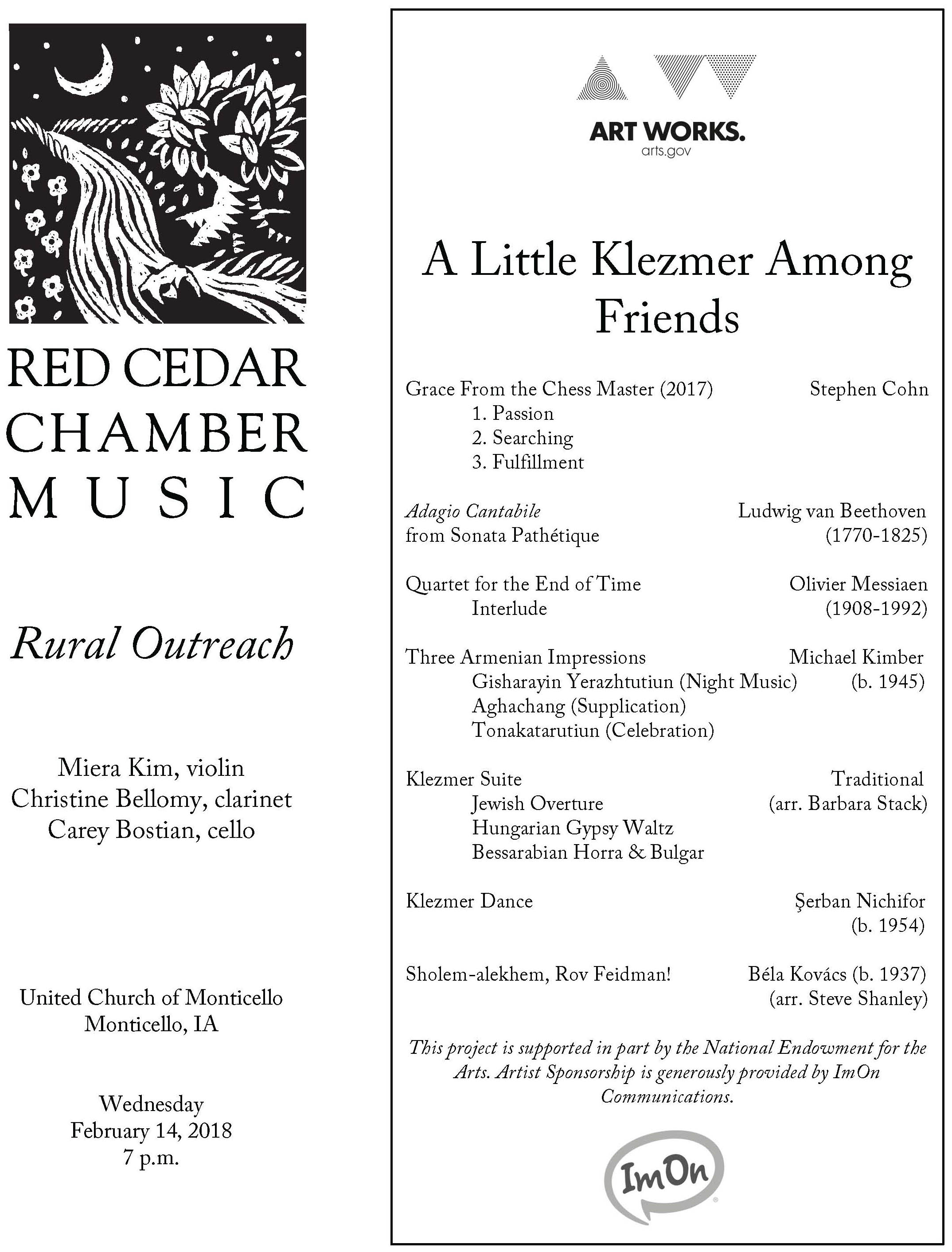 Klezmer Arrangements