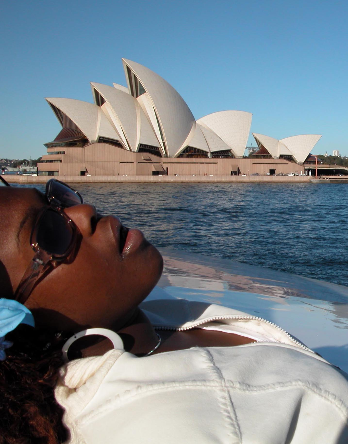 Ruthie Price on OYO Tour in Sydney 2004