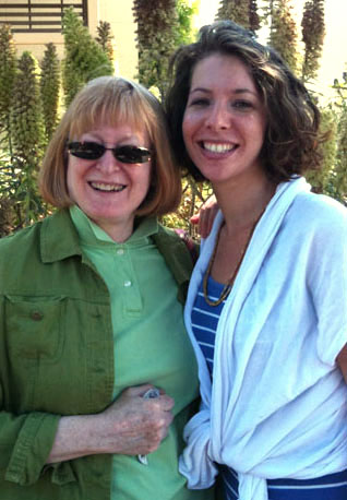 Barbara and Rose in Berkeley June 29 2010